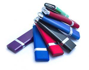 Kolorowe plastikowe pendrive'y reklamowe