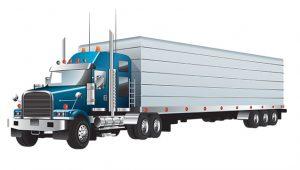 Szybki transport ciężarówką