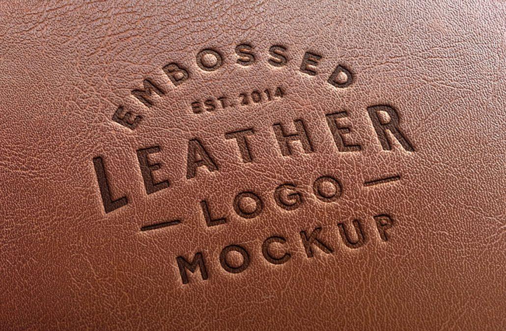 Tłoczenie logo na skórze