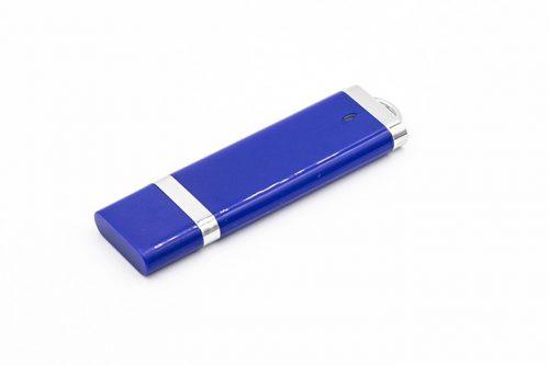Niebieski pendrive metal