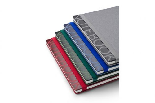 Notes z napisem NOTEBOOK w różnych kolorach