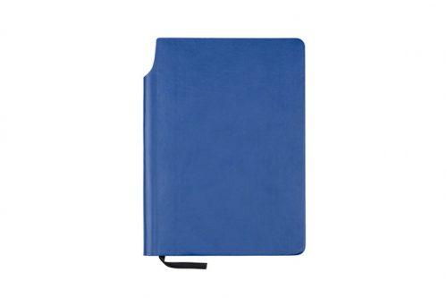 Zeszyt z kieszonką koloru niebieskiego
