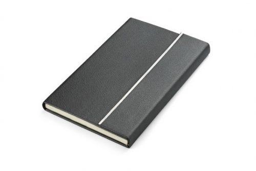 Czarny notes z magnetycznym zapięciem