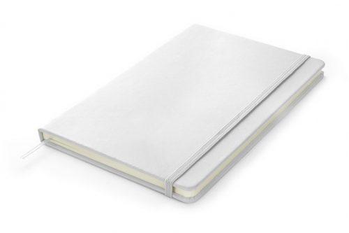 Notes A5 w kolorze białym