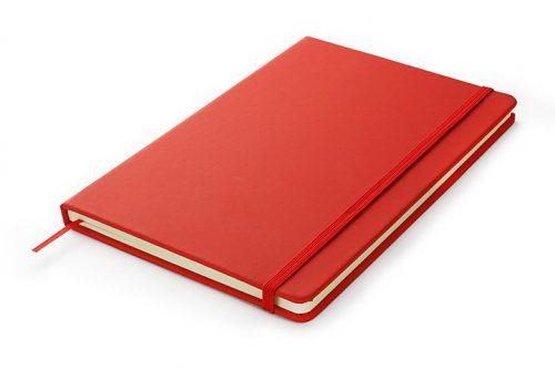 Notes A5 w kolorze czerwonym
