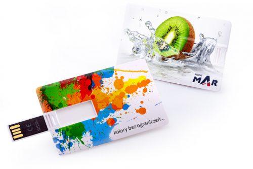 Pendrivy w kształcie karty kredytowej. Różne opcje.