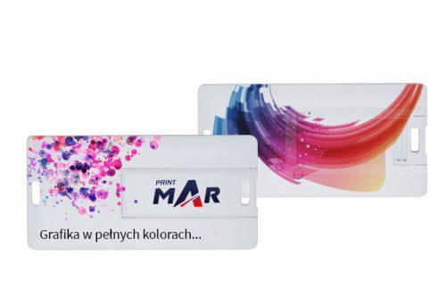 Pendrivy w kształcie karty kredytowej. Nadruk Full Color - 3