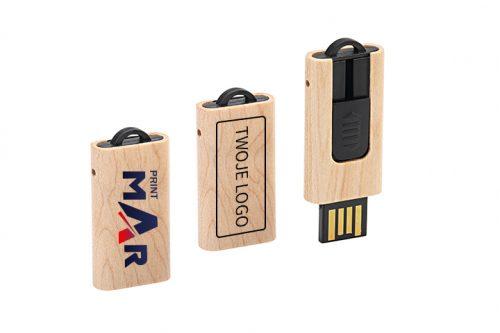Drewniany pendrive wersja mini