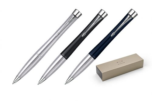 Długopisy Parker D-9100 - zdjęcie zbiorcze w trzech kolorach