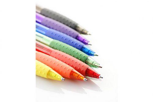 Długopisy plastikowe z nadrukiem VISION - różne kolory
