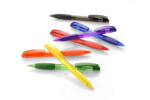 Długopisy plastikowe VISION z nadrukiem - paleta kolorów