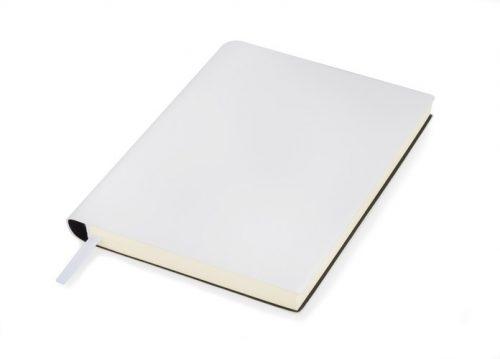 Notes Bellis, grawer lub nadruk logo - biały