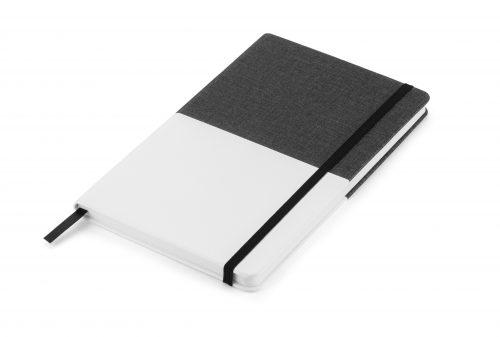 Twin - czarno - biały notes z nadrukiem Twojego LOGO