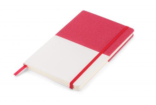 Twin - czerwono-biały notes z nadrukiem Twojego LOGO