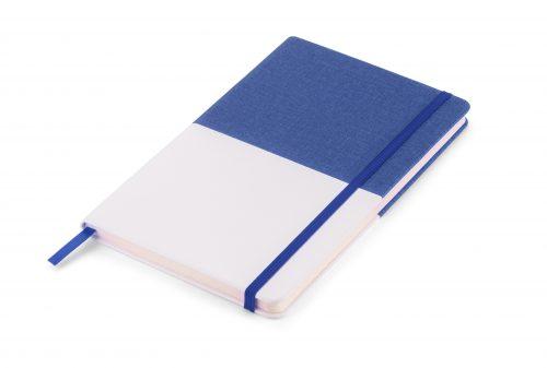 Twin - niebiesko_biały notes z nadrukiem Twojego LOGO
